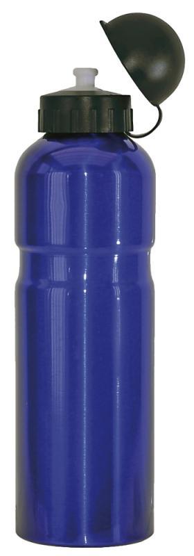 Trinkflasche Alu 0,75ltr  blau - Trinkflasche Alu 0,75ltr  blau