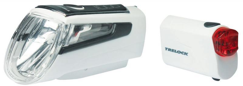 Batteriebeleuchtungsset `Trelock LS 560 I-Go/LS 720` weiß - Batteriebeleuchtungsset `Trelock LS 560 I-Go/LS 720` weiß