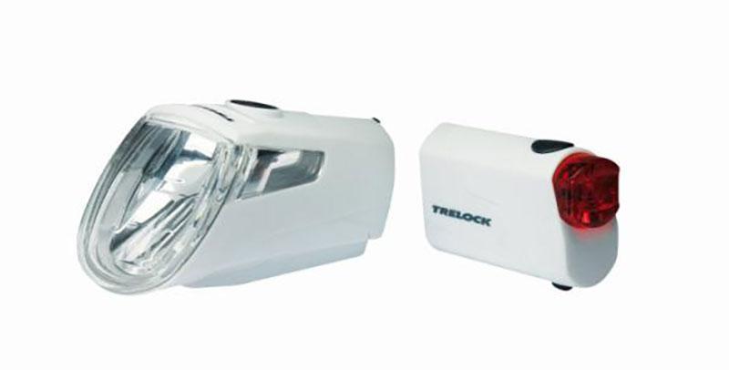 Kombiset `Trelock LS 360 I-Go/LS 720` weiß - Kombiset `Trelock LS 360 I-Go/LS 720` weiß