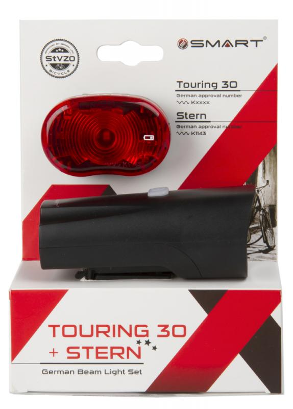 Batteriebeleuchtungsset `Smart Touring 30` - Batteriebeleuchtungsset `Smart Touring 30`
