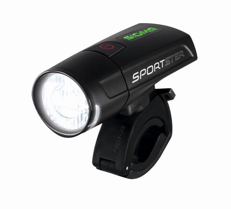 Batteriescheinwerfer `Sigma Sportster` schwarz - Batteriescheinwerfer `Sigma Sportster` schwarz