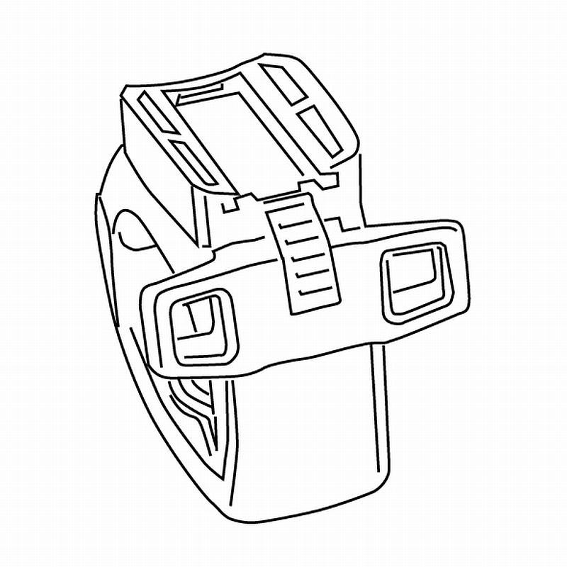 Ersatzhalterung für Sigma Scheinwerfer Lighster - Ersatzhalterung für Sigma Scheinwerfer Lighster
