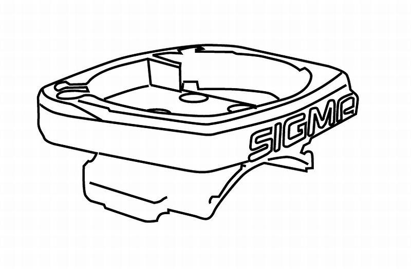 Universalhalter Sigma ohne Kabel - Universalhalter Sigma ohne Kabel
