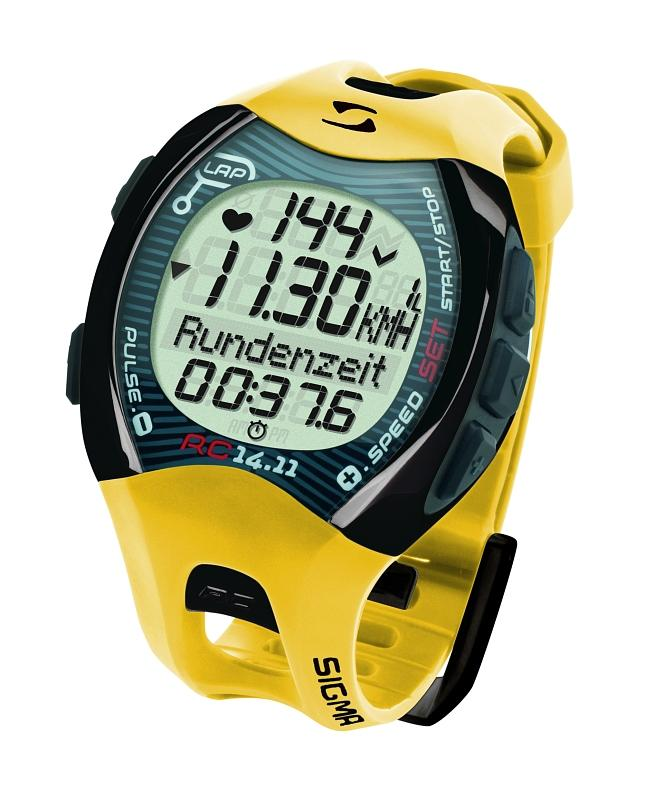 Pulsmesser 'Sigma Sport RC 14.11'gelb - Pulsmesser 'Sigma Sport RC 14.11'gelb