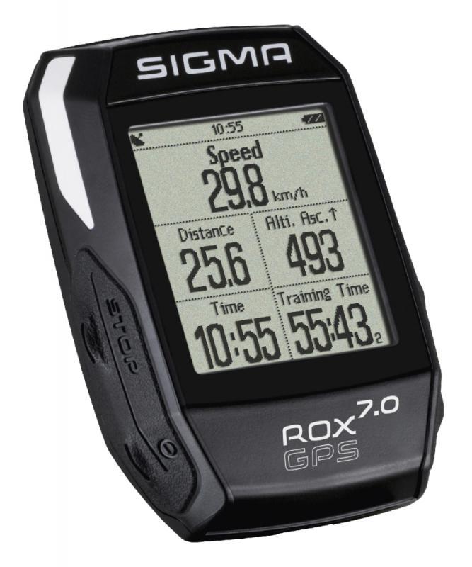 Computer 'Sigma Sport Rox 7.0 GPS Black' - Computer 'Sigma Sport Rox 7.0 GPS Black'