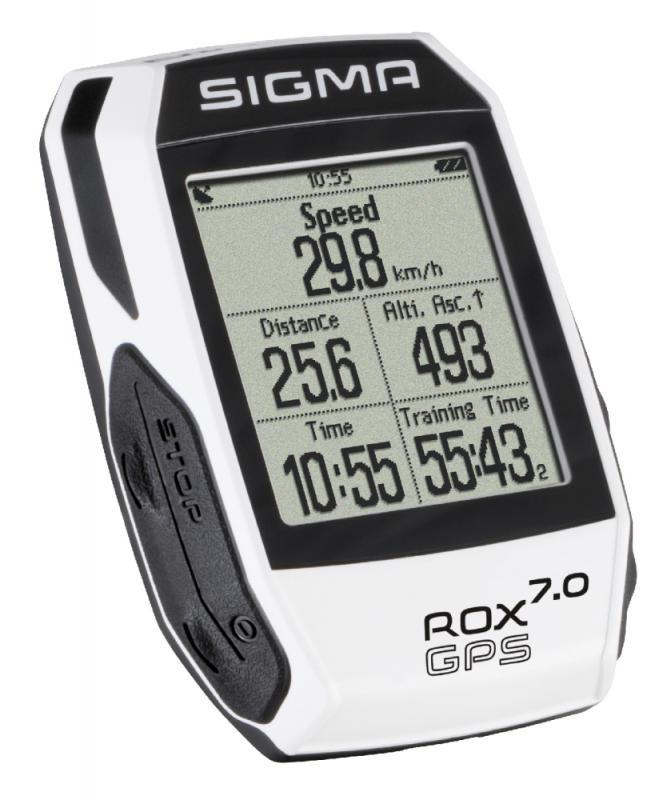 Computer 'Sigma Sport Rox 7.0 GPS White' - Computer 'Sigma Sport Rox 7.0 GPS White'
