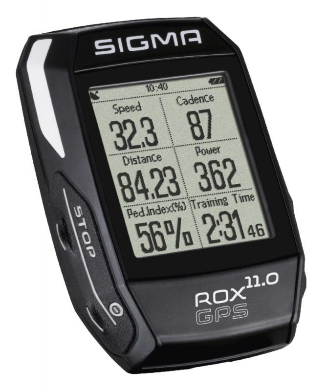 Computer `Sigma Sport Rox 11.0 GPS Black SET` - Computer `Sigma Sport Rox 11.0 GPS Black SET`