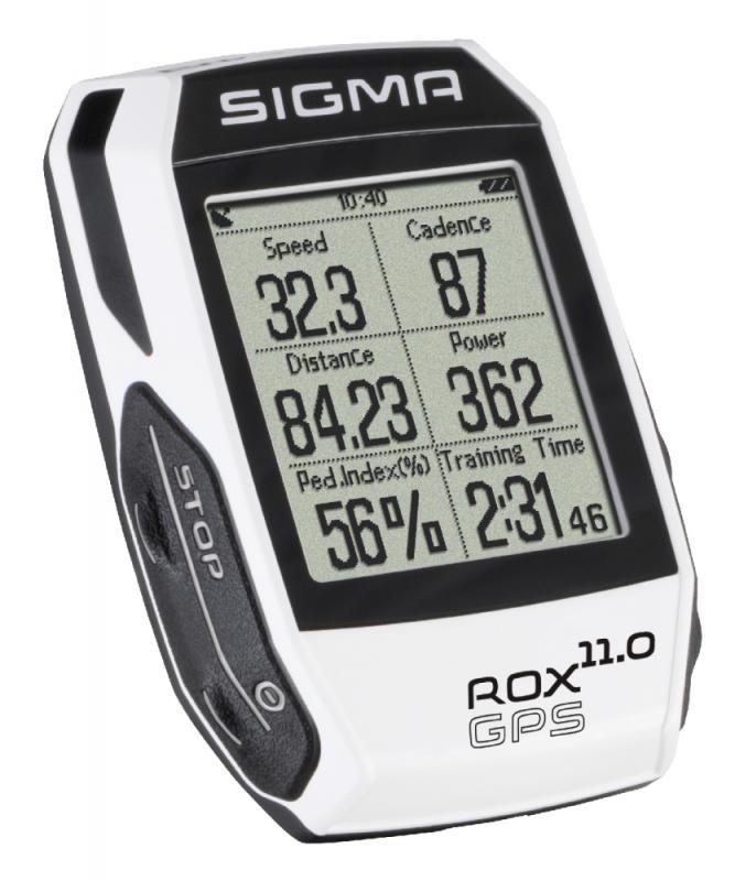 Computer `Sigma Sport Rox 11.0 GPS White SET` - Computer `Sigma Sport Rox 11.0 GPS White SET`