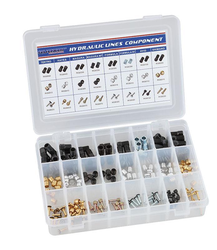 Scheibenbremsersatzteilbox 240 Teile - Scheibenbremsersatzteilbox 240 Teile