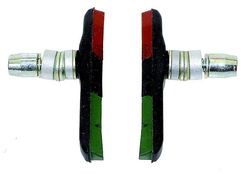 Bremsschuhe V-Brake 3-farbig Pro Max - Bremsschuhe V-Brake 3-farbig Pro Max
