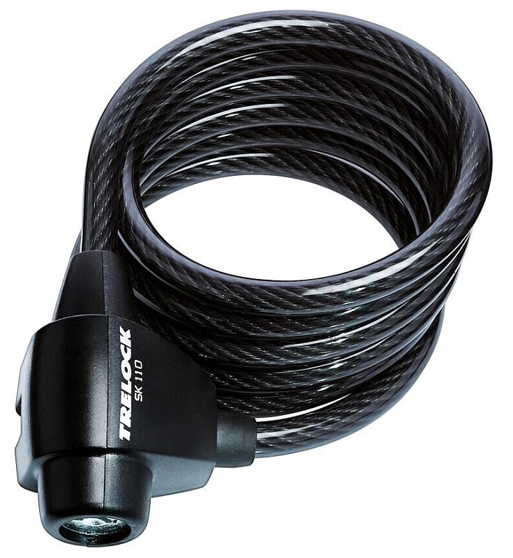 Spiralkabelschloß 'Trelock SK 110/180' - Spiralkabelschloß 'Trelock SK 110/180'
