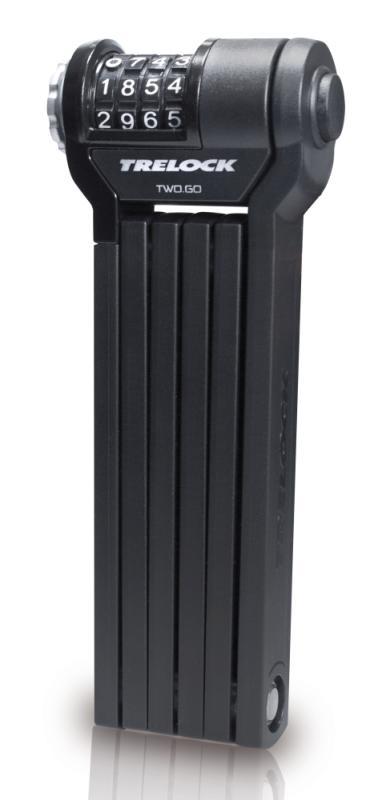 Faltschloß Trelock 'FS 260 Code' schwarz - Faltschloß Trelock 'FS 260 Code' schwarz