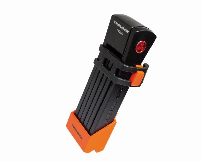 Faltschloß 'Trelock FS 200 Two.Go' orange - Faltschloß 'Trelock FS 200 Two.Go' orange