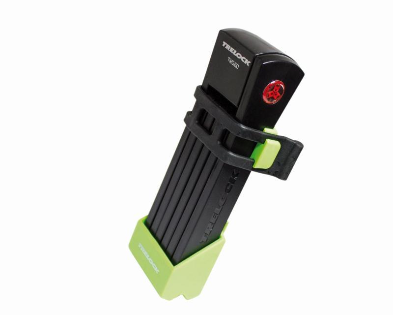 Faltschloß 'Trelock FS 200 Two.Go' grün - Faltschloß 'Trelock FS 200 Two.Go' grün