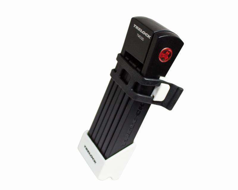 Faltschloß 'Trelock FS 200 Two.Go' weiß - Faltschloß 'Trelock FS 200 Two.Go' weiß