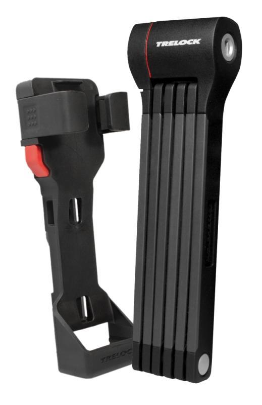 SaarRad Fr. Hoffmann GmbH - B2B-Shop - Trelock Faltschloß FS 480 X-Press schwarz 100 cm