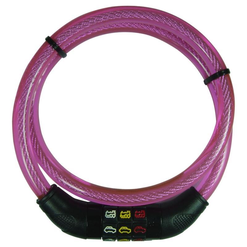 Kinder-Kabelschloß 'Point' pink - Kinder-Kabelschloß 'Point' pink