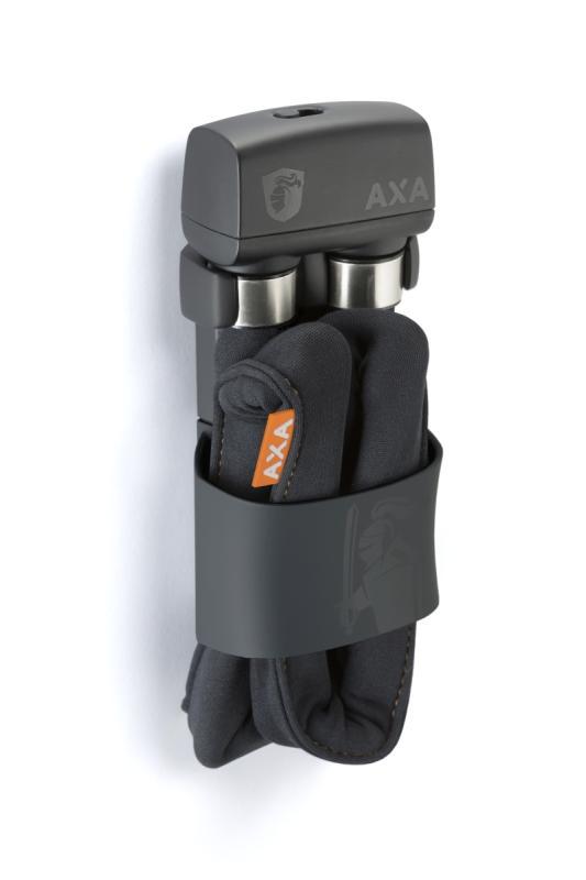 Faltschloß 'Axa FLC 800' grau - Faltschloß 'Axa FLC 800' grau
