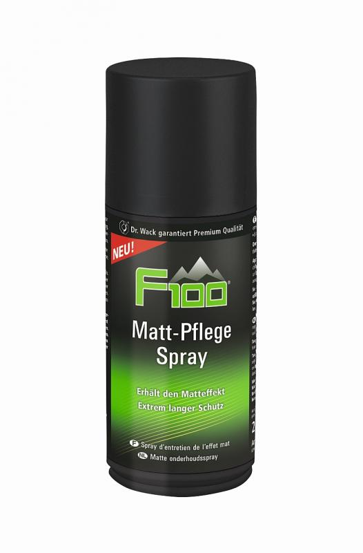 Matt Pflege Spray F 100 - Matt Pflege Spray F 100