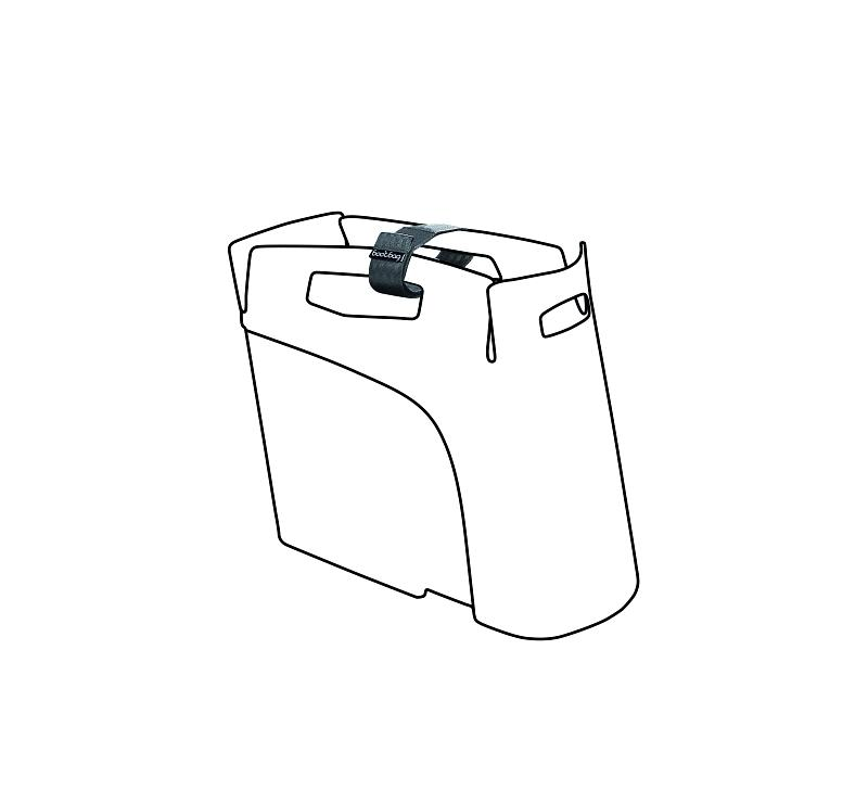 Gurt 'Hebie Bootbag' kurz - Gurt 'Hebie Bootbag' kurz