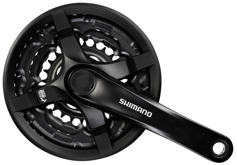 Shimano Kurbelgarnitur  TY-501 - Shimano Kurbelgarnitur  TY-501