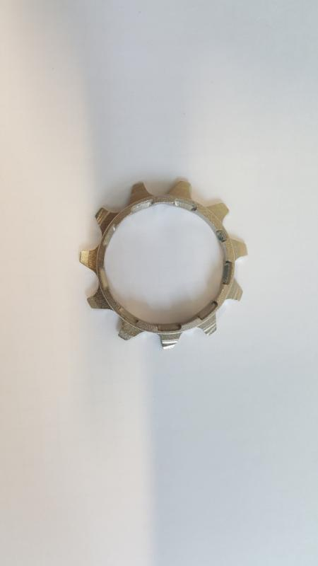 Abschlußritzel mit Distanzstück 11 Zähne - Abschlußritzel mit Distanzstück 11 Zähne