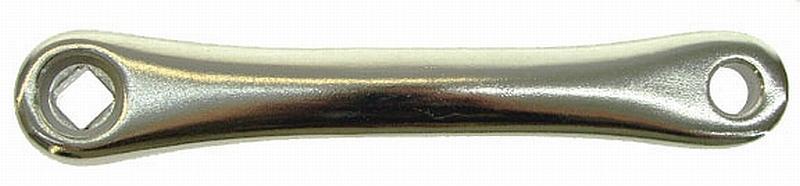 Kurbel links Alu 170 mm silber - Kurbel links Alu 170 mm silber