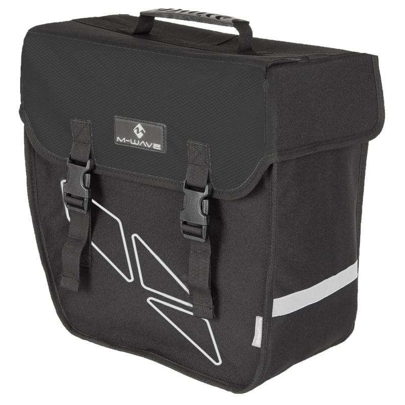 Einzeltasche M-Wave schwarz links - Einzeltasche M-Wave schwarz links