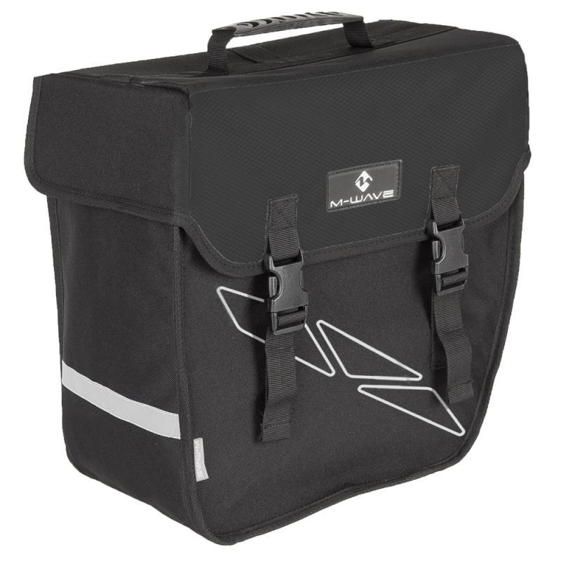Einzeltasche M-Wave schwarz rechts - Einzeltasche M-Wave schwarz rechts