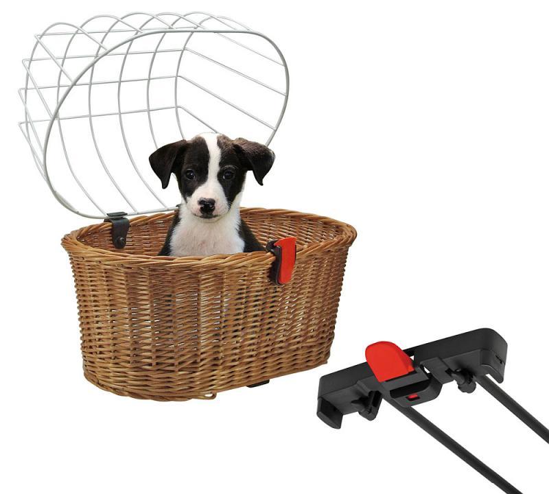 Hundetransportkorb 'Doggy' für Racktime - Hundetransportkorb 'Doggy' für Racktime