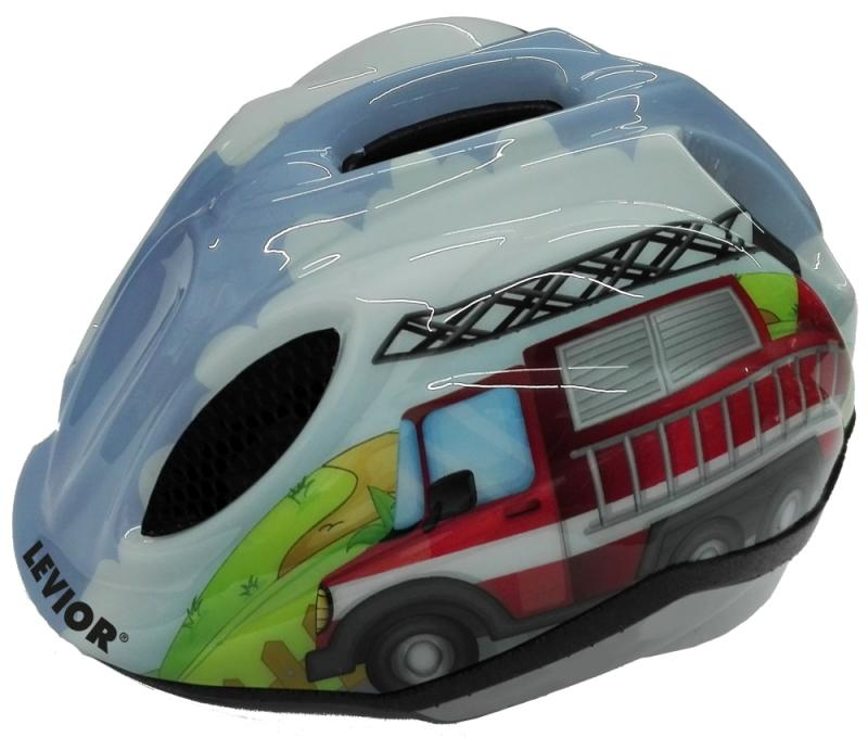 Kinderfahrradhelm Levior Primo Fire Truck - Kinderfahrradhelm Levior Primo Fire Truck