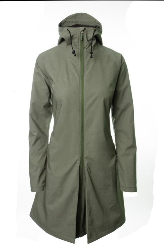 Damen Regenmantel 'AGU SEQ Urban' Gr. XL olive grün - Damen Regenmantel 'AGU SEQ Urban' Gr. XL olive grün