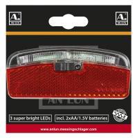 Batterie-Gepäckträgerrücklicht 'Anlun' - FAHRRAD - KONTOR | Fahrraddiscount | Gute Räder, gute Preise