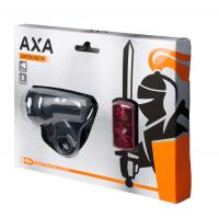 Batteriebeleuchtungsset 'Axa Green Line' 50Lux/2LED - Bergmann Bike & Outdoor