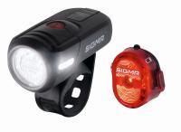 SaarRad Fr. Hoffmann GmbH - B2B-Shop - Sigma Sport Beleuchtungsset Aura 45 USB/Nugget 2