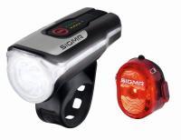 SaarRad Fr. Hoffmann GmbH - B2B-Shop - Sigma Sport Beleuchtungsset Aura 80 USB/Nugget 2