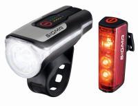 SaarRad Fr. Hoffmann GmbH - B2B-Shop - Sigma Sport Beleuchtungsset Aura 80 USB/Blaze