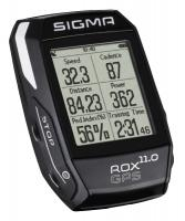 Computer 'Sigma Sport Rox 11.0 GPS Black SET' - Bergmann Bike & Outdoor