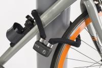 Faltschloß 'Axa FLC 600' grau - Fahrradhof Halle