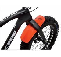 Schutzblech 'Roto' vorn Fat Bike orange - KS BIKES, Fahrräder, Fahrrad-Teile, E-Bike, Pedelec, Akkus