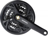 Kurbelgarnitur 'Shimano FCM371 schwarz - Stiller Radsport Speyer - Herzlich Willkommen -