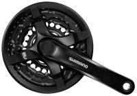 Kurbelgarnitur 'Shimano TY-501 ' - Pro-Cycling-Golla