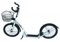 Erwachsenenroller 20' weiß - FAHRRAD - KONTOR | Fahrraddiscount | Gute Räder, gute Preise