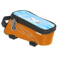 Oberrohrtasche 'M-Wave Rotterdam Top L' orange - Bergmann Bike & Outdoor
