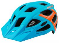 Helm Rockmachine Edge blau-orange - Bike Schmiede Biesenrode GbR