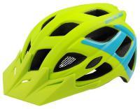 Helm Rockmachine Edge grün-blau - Stiller Radsport Speyer - Herzlich Willkommen -