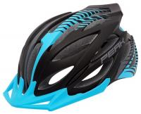 SaarRad Fr. Hoffmann GmbH - B2B-Shop - Rock Machine Helm  Peak blau-weiß