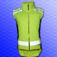 Reflex-Sicherheitssteppweste  Gr. S (32/34) - KS BIKES, Fahrräder, Fahrrad-Teile, E-Bike, Pedelec, Akkus